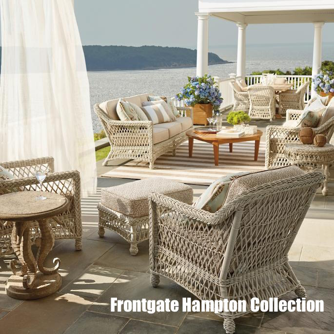 Frontage Hampton Collection in ivory seating and dining